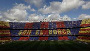 FC Barcelona Camp Nou Choreo Fans