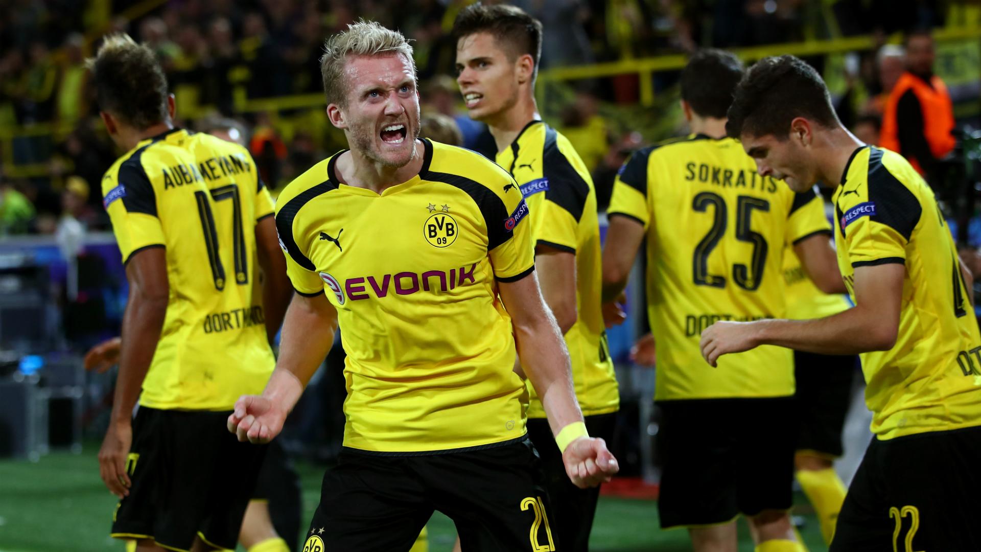 André Schürrle Borussia Dortmund Champions League