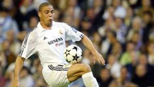 Ronaldo Nazario de Lima Real Madrid