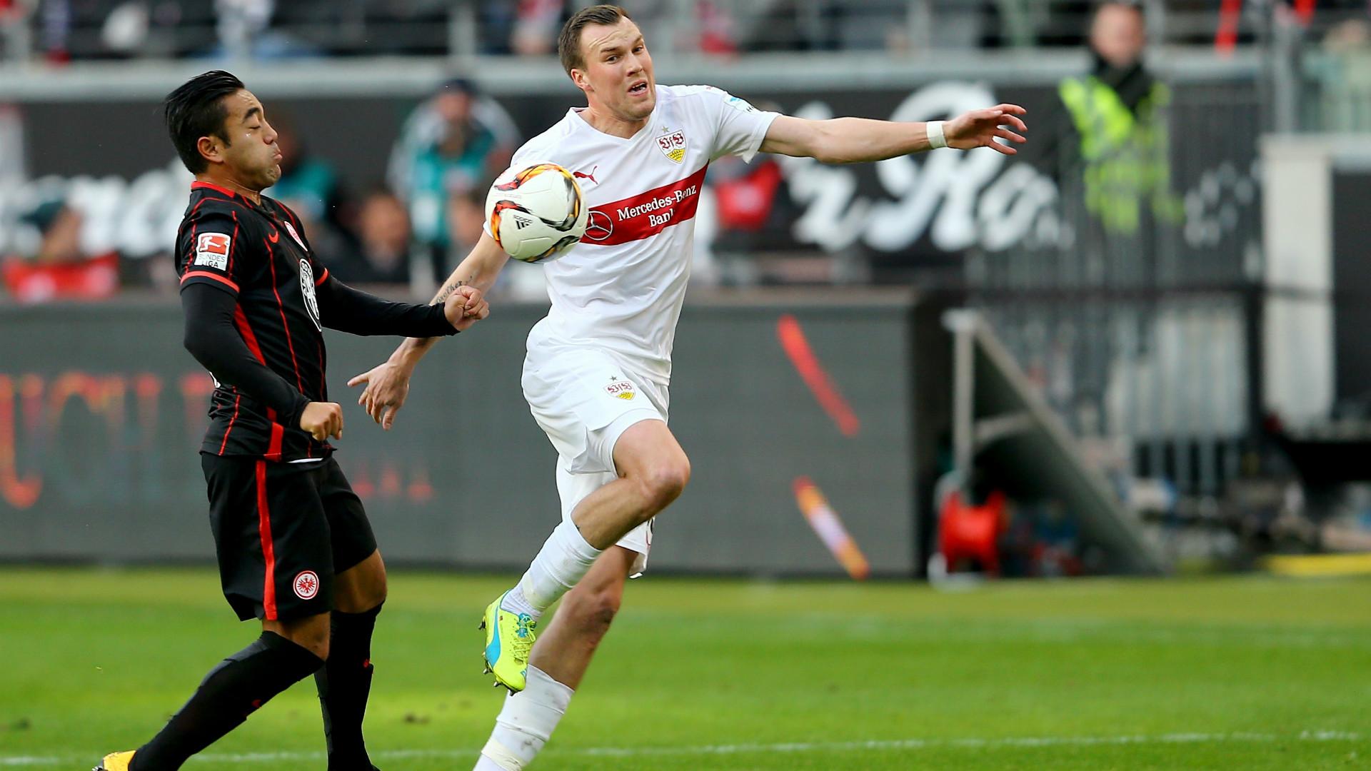 Marco Fabian Kevin Grosskreutz Eintracht Frankfurt VfB Stuttgart Bundesliga 06022016