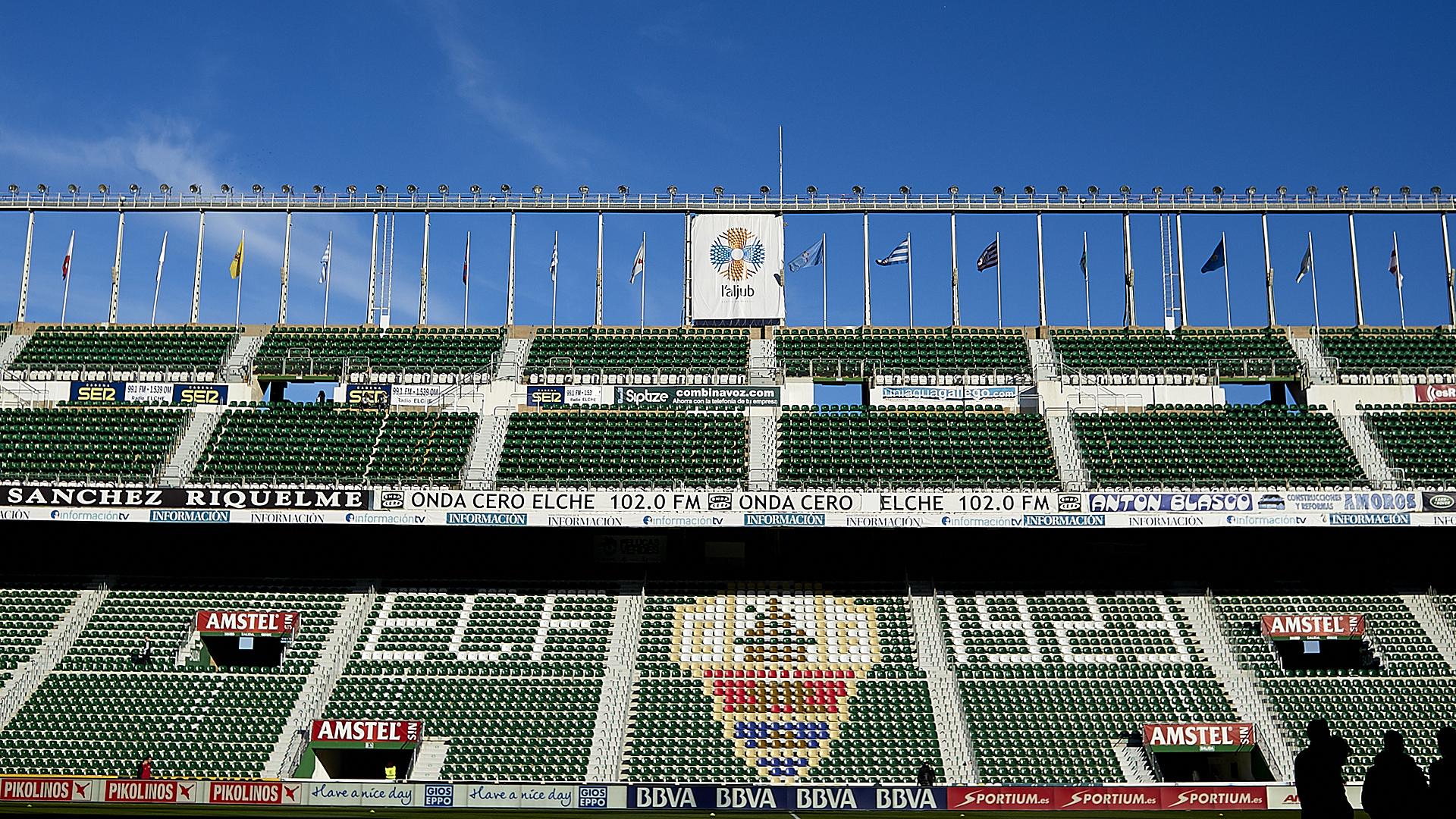 FC Elche Manuel Martinez Valero Stadion Primera Division 01242015