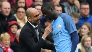 Pep Guardiola Yaya Toure 11032017