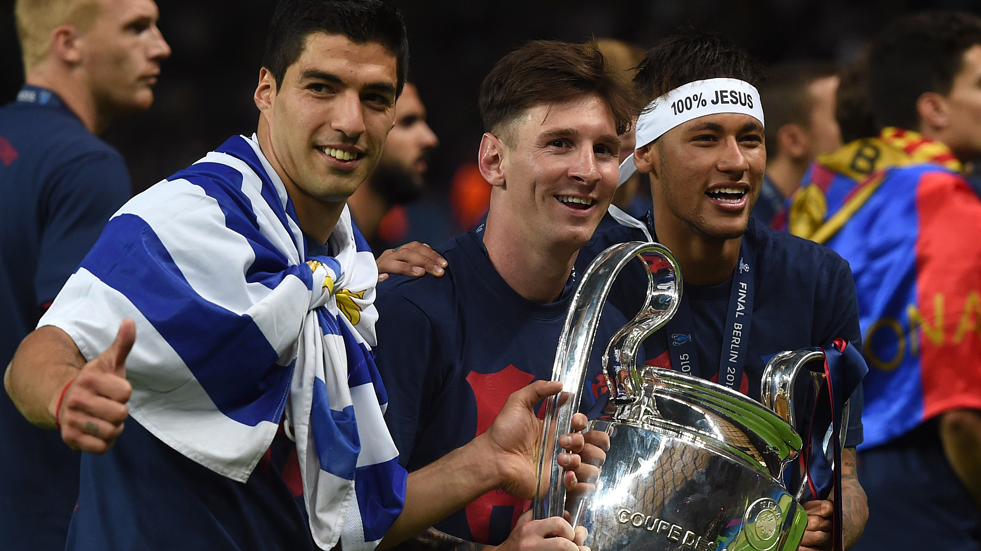 Luis Suarez Lionel Messi Neymar 06062015