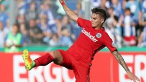 Guillermo Varela Eintracht Frankfurt DFB-Pokal