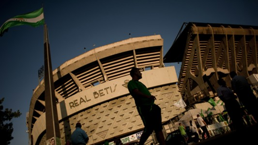 Real Betis Stadion View Benito Villamarin