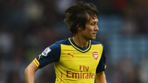 Tomas Rosicky Arsenal 09202014