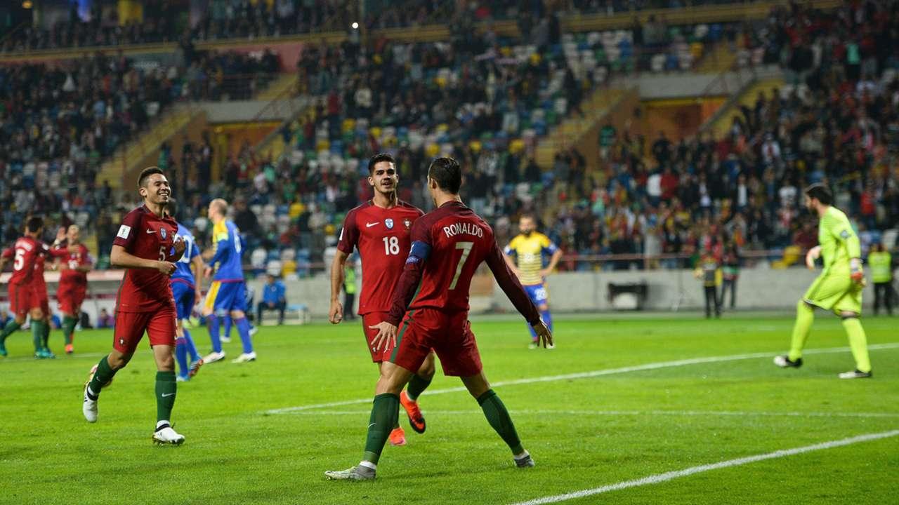 Cristiano Ronaldo Portugal Andorra WM-Qualifikation 07102016
