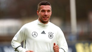 Lukas Podolski Germany Training 03222016