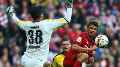 Bayern München Borussia Dortmund Bundesliga 04102015
