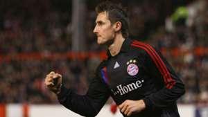 Miroslav Klose FC Bayern München v Aberdeen UEFA Cup 14022008