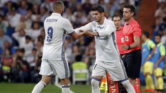 Karim Benzema Alvaro Morata Real Madrid