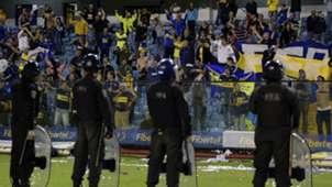 Libertadores Boca Juniors River Plate Police Polizei Argentine Argentinien Fans15052015