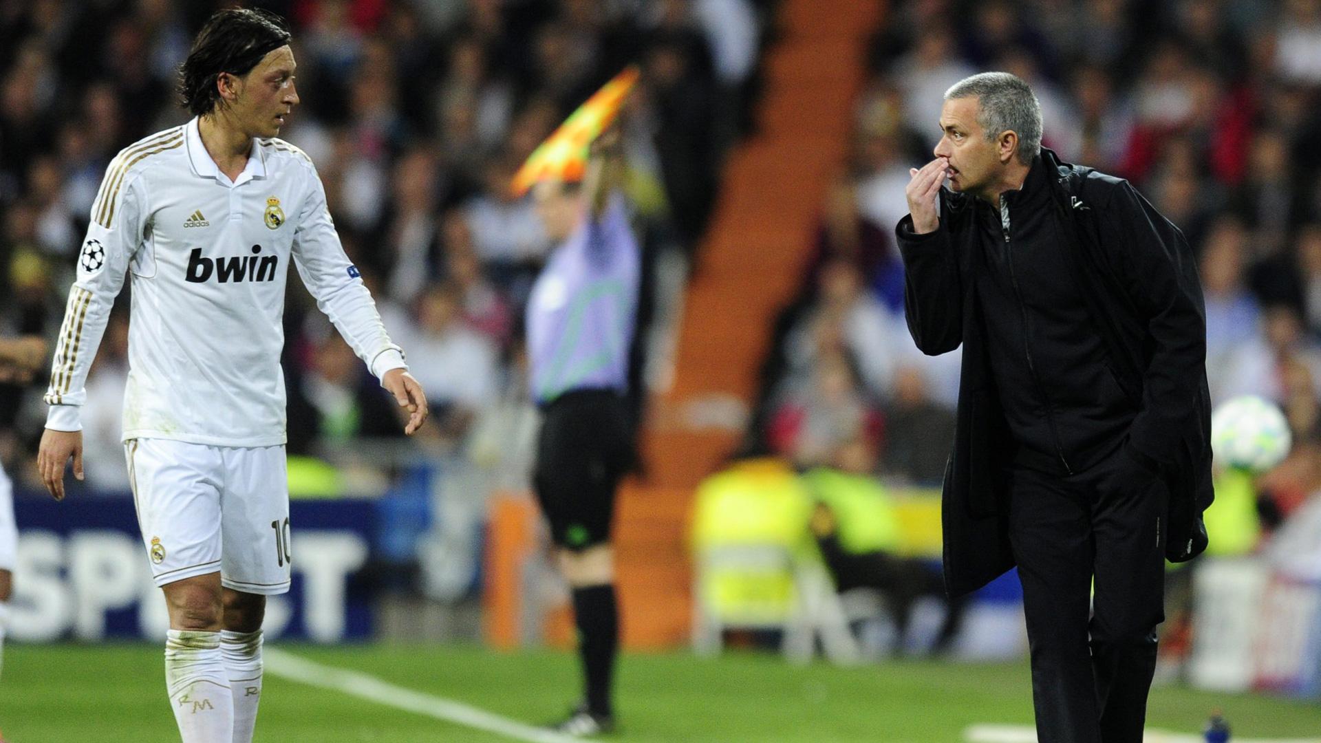 Jose Mourinho Mesut Özil Real Madrid