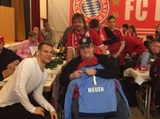 Manuel Neuer FC Bayern Münhen Rollwagerl '93