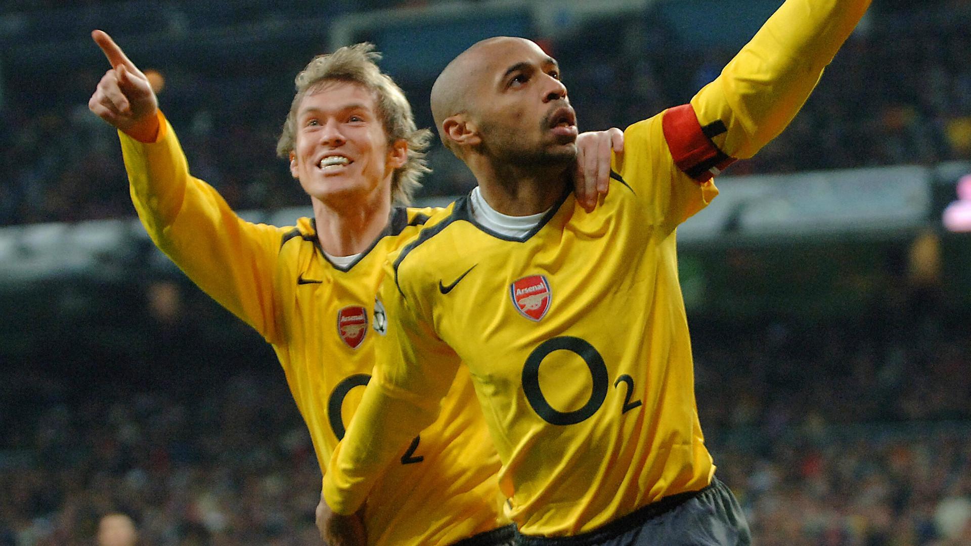 Aleksandr Hleb Thierry Henry Arsenal Premier League 21022006