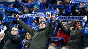 SC Paderborn Fans Leipzig 2. Bundesliga 02262016