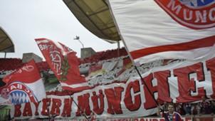 Bayern München Fans Choreo Borussia Dortmund DFB Pokal 17052014