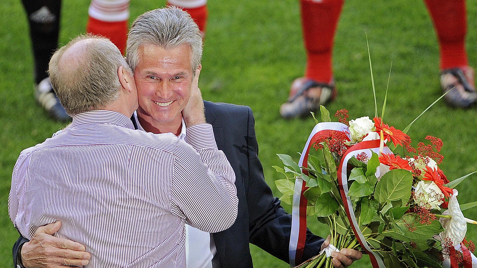 Uli Hoeneß Jupp Heynckes Bayern München 23052009