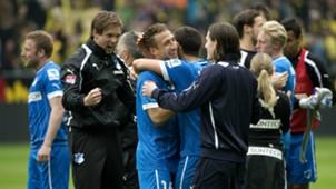 Players Celebrating Borussia Dortmund v TSG Hoffenheim Bundesliga 05182013