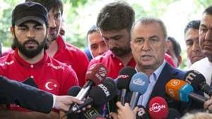 Fatih Terim Turkish Team Camp 05192014