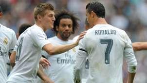 Toni Kroos Cristiano Ronaldo Real Madrid