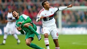 Santiago Garcia Thiago Alcantara Werder Bremen FC Bayern Munchen