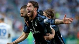 Sergio Ramos Karim Benzema Real Madrid 21052017
