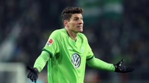 Mario Gomez VfL Wolfsburg Bundesliga 17122016