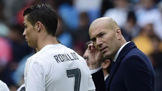 Cristiano Ronaldo, Zinedine Zidane 05082016