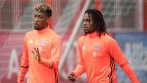 Kingsley Coman Renato Sanches FC Bayern München 05082016