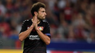 Admir Mehmedi Bayer Leverkusen 14092016