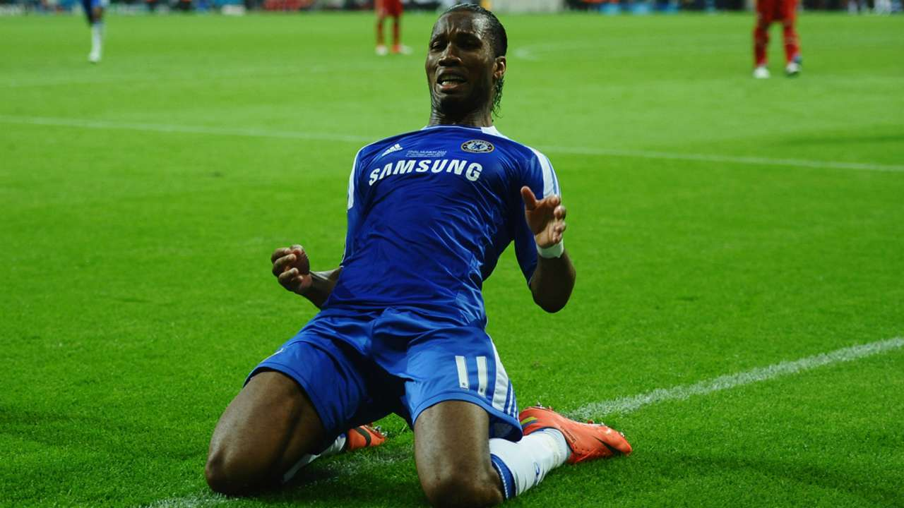 DIDIER DROGBA CHELSEA CHAMPIONS LEAGUE FINAL 19052012
