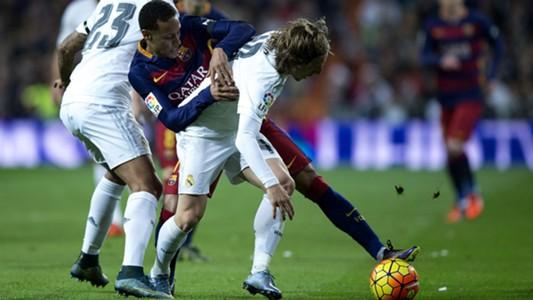 Neymar Luka Modric Barcelona Real Madrid Primera Division 22112015