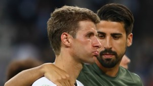 Germany France Thomas Müller Sami Khedira EURO 2016 070716