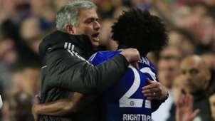 Jose Mourinho Willian FC Chelsea Premier League 04082014