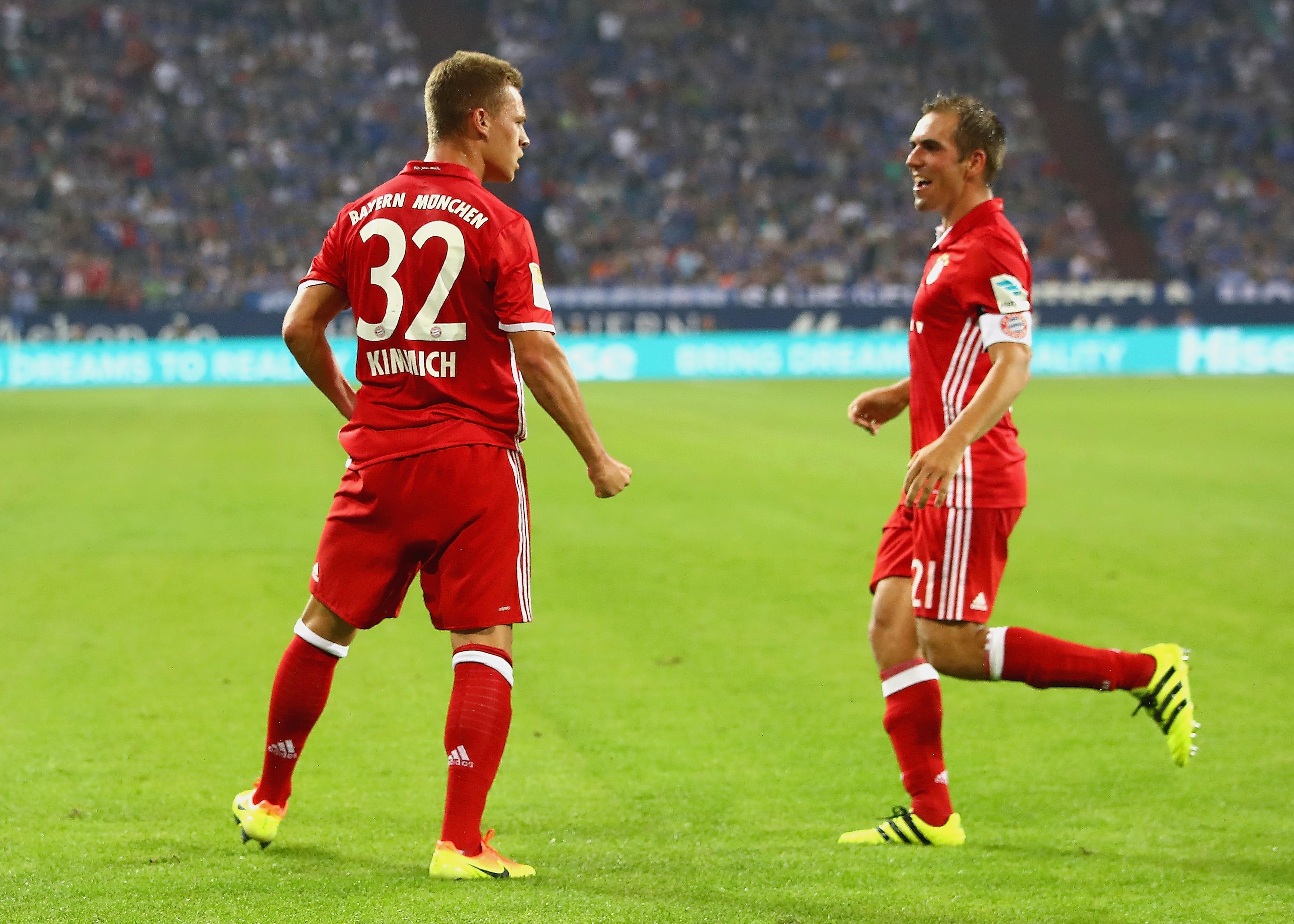 Joshua Kimmich Philipp Lahm FC Bayern München Bundesliga 09092016