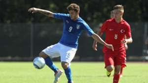 Patrick Cutrone Cihan Kahraman Italien Türkei U19 06092016