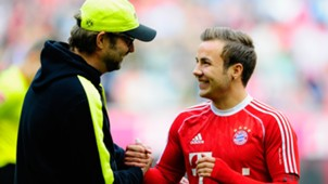 Mario Götze Jürgen Klopp Bayern München Borussia Dortmund Bundesliga 04122014