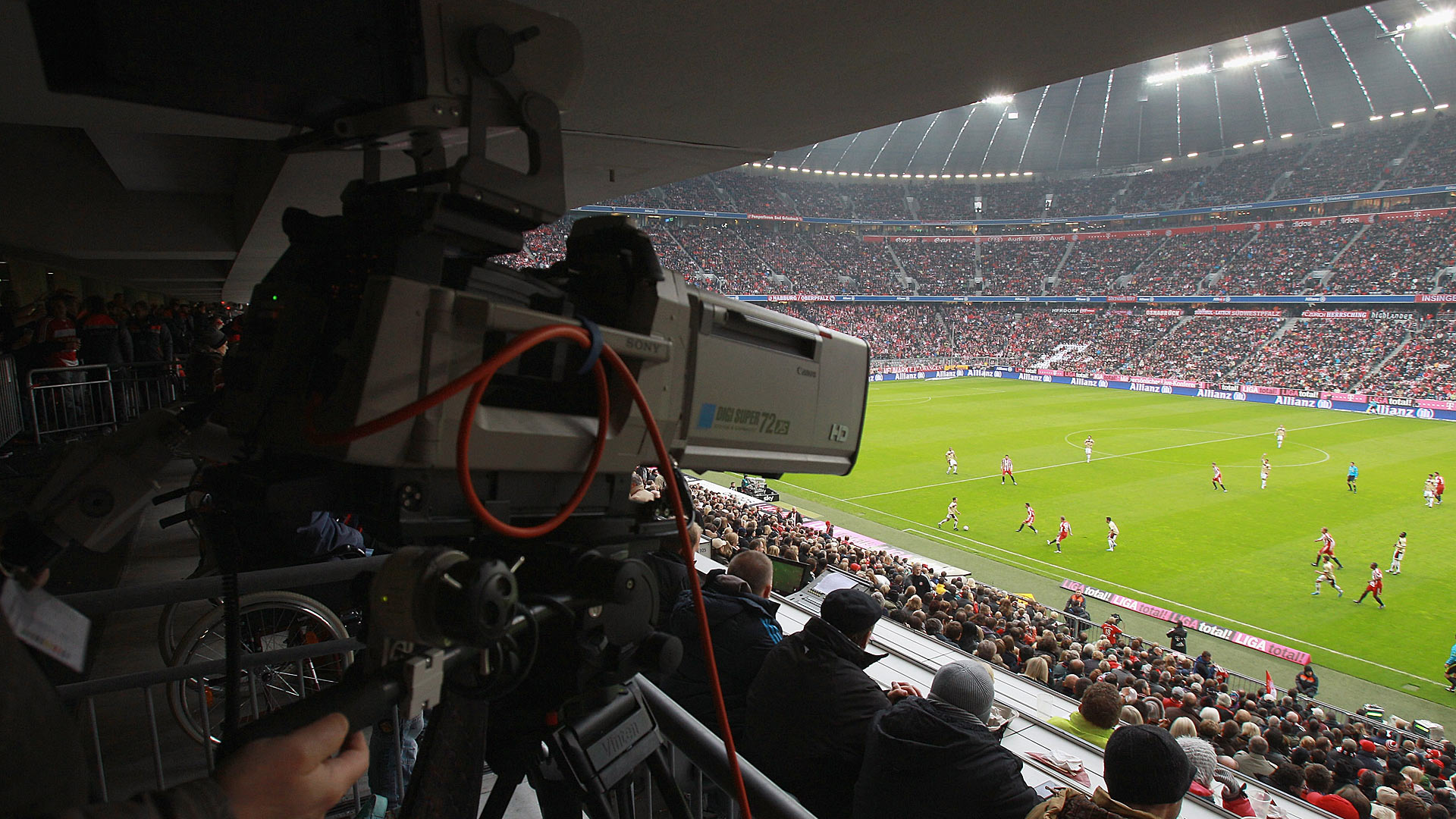 TV Kamera Camera Allianz Arena