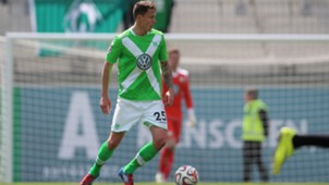 Bjarne Thoelke VfL Wolfsburg II SV Werder Bremen II Regionalliga Nord 05022015