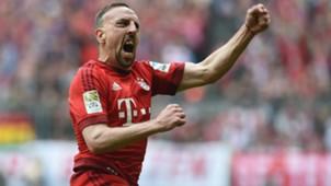 Franck Ribery FC Bayern Munchen Eintracht Frankfurt Bundesliga 02042016