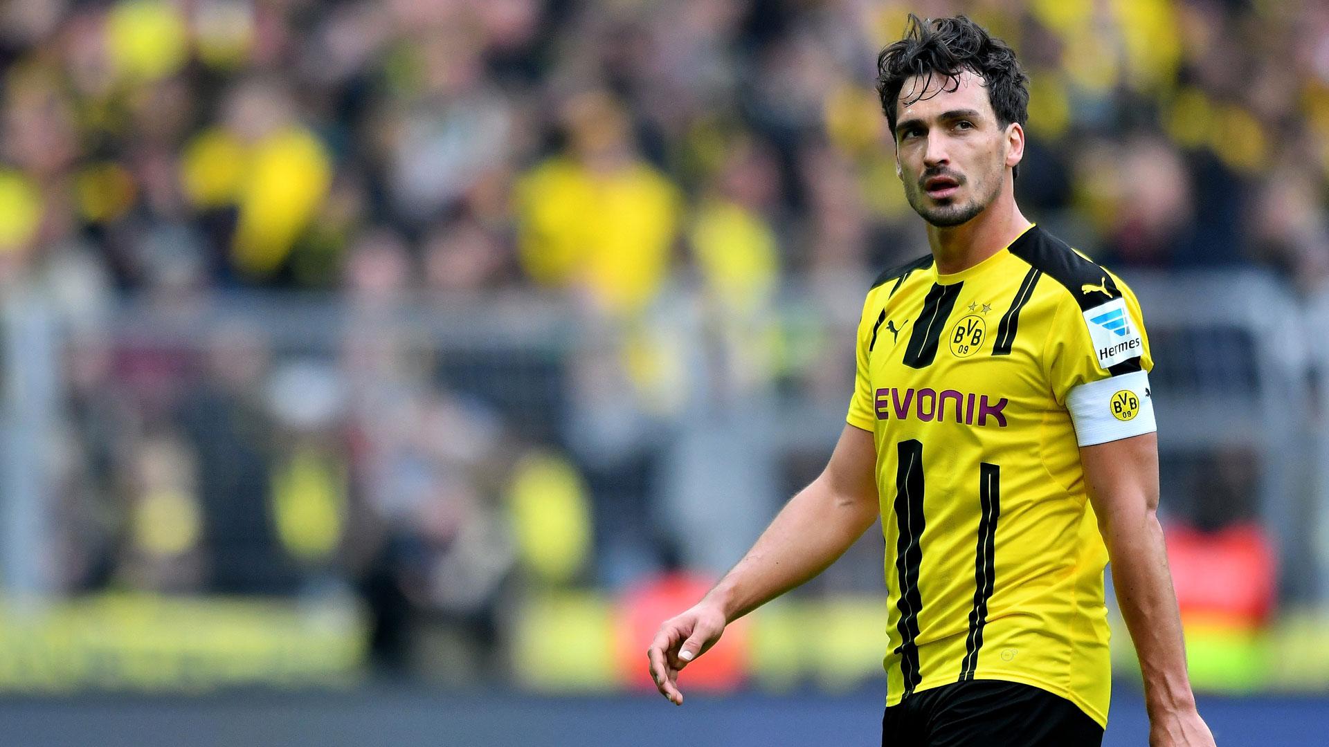 Mats Hummels Borussia Dortmund 14052016