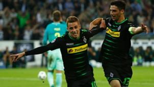 Thorgan Hazard Lars Stindl Borussia Mönchengladbach FC Barcelona Champions League 28092016