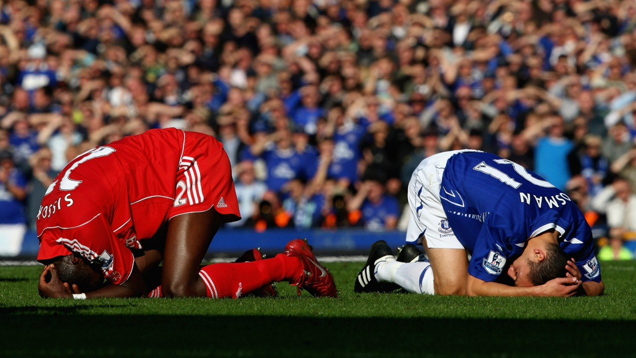FC Liverpool FC Everton Mohamed Sissoko Leon Osman