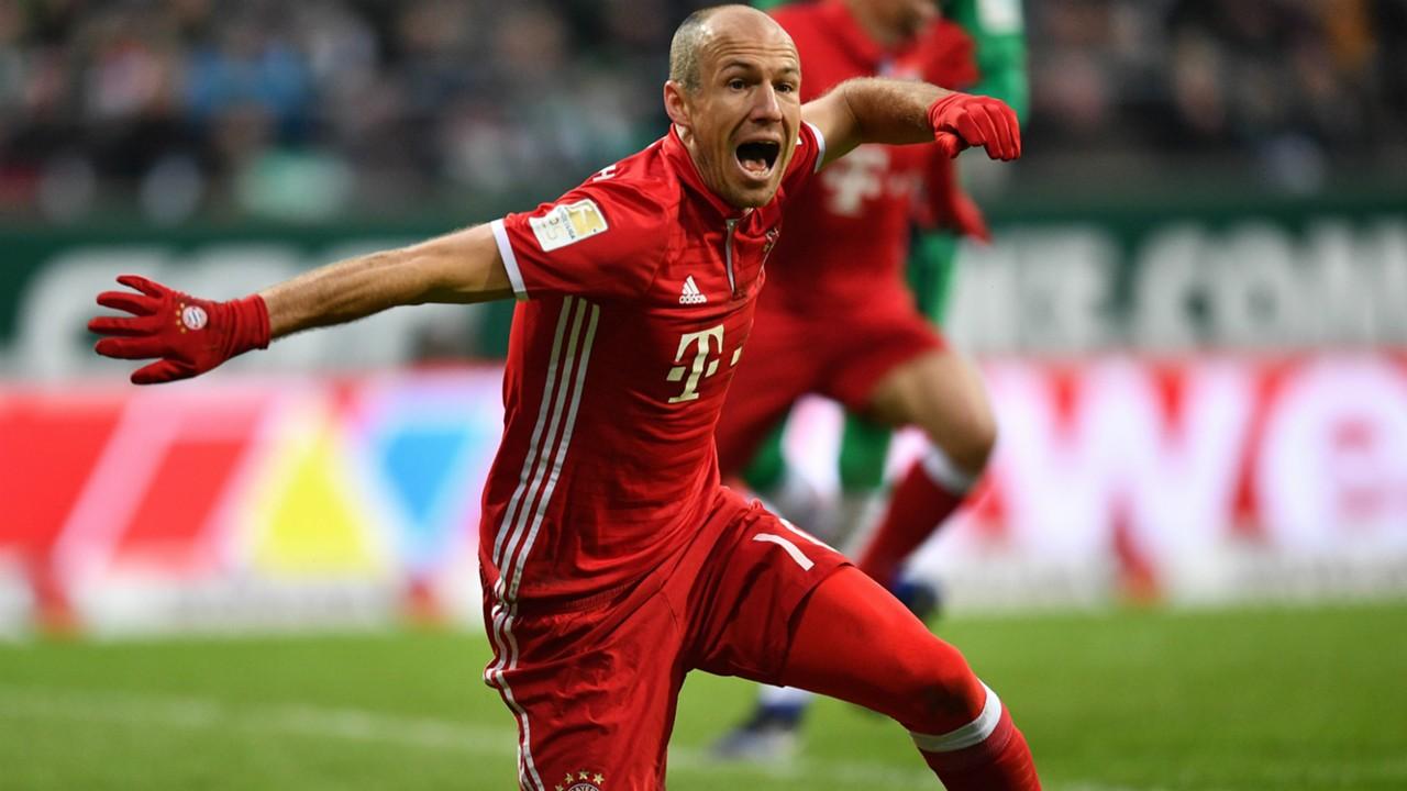 Arjen Robben FC Bayern Bundesliga 28012017