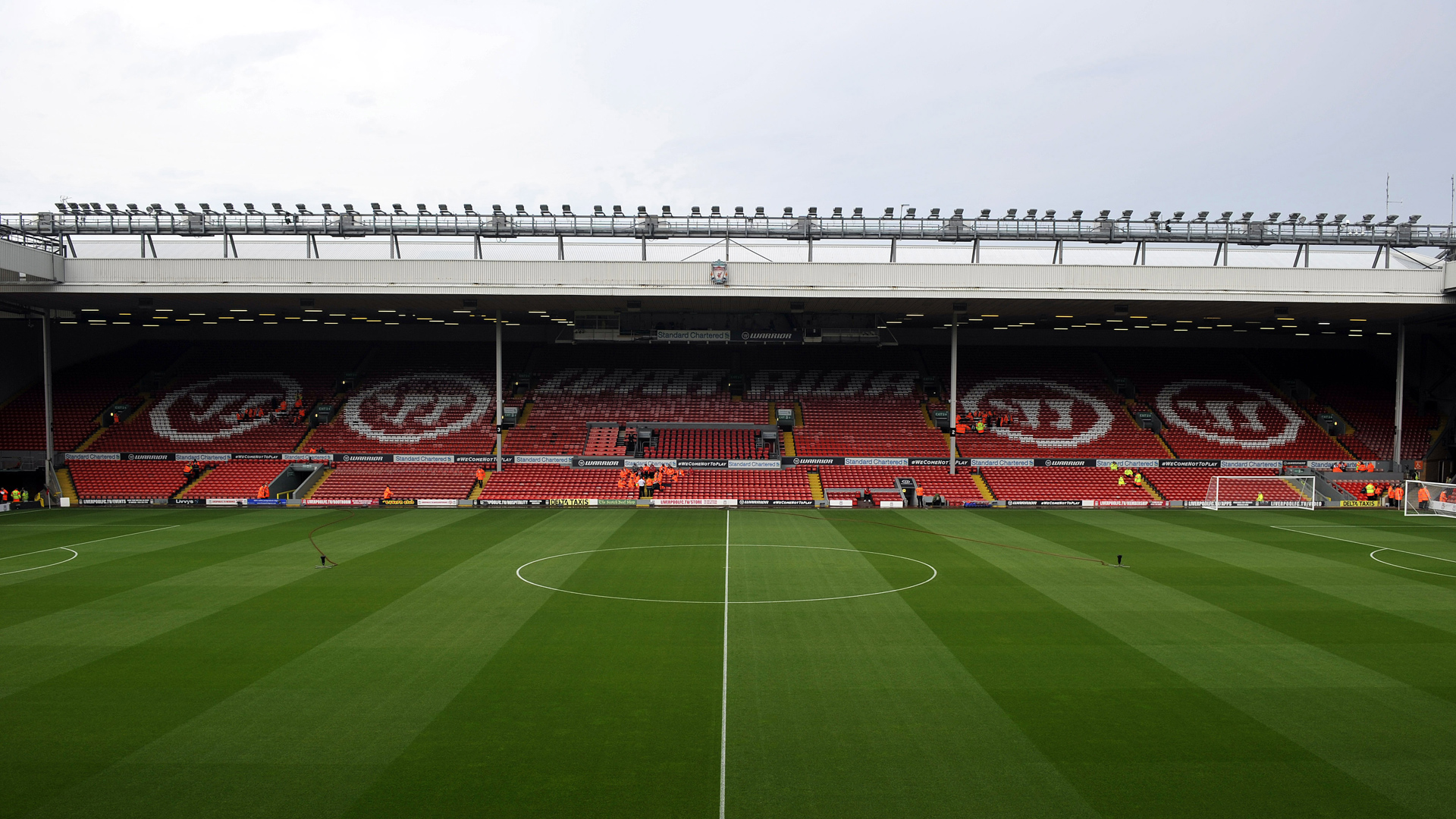 FC Liverpool Stadium View Anfield Road