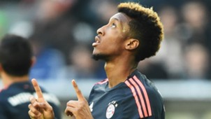 KINGSLEY COMAN BAYERN MUNICH GERMAN BUNDESLIGA 27022016