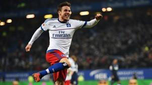 Nicolai Müller Hamburger SV Hertha BSC Bundesliga 06032015