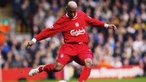 El-Hadji Diouf FC Liverpool Premier League 10252003