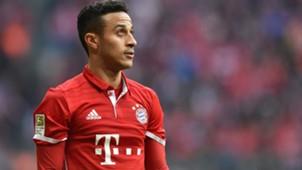 Thiago Alcantara FC Bayern Bundesliga 11032017